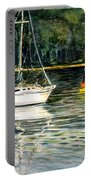 Yellow Boat Sister Bay Portable Battery Charger