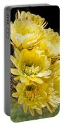 Yellow Bouquet Portable Battery Charger