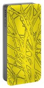 Yellow Branches Portable Battery Charger