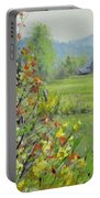 Yellow Broom Spring Portable Battery Charger