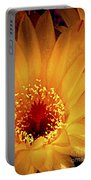 Yellow Cactus Flower Portable Battery Charger