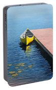 Yellow Canoe Portable Battery Charger