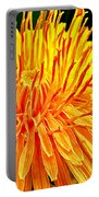 Yellow Chrysanthemum Painting Portable Battery Charger