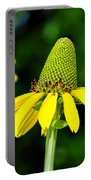 Yellow Cone Flower Portable Battery Charger