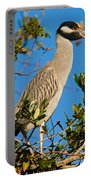 Yellow Crown Night Heron Portable Battery Charger