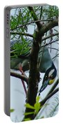 Yellow Crowned Night Heron Portable Battery Charger