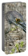 Yellow-crowned Night Heron With Crab Portable Battery Charger