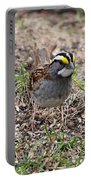 Yellow Crowned Sparrow Portable Battery Charger