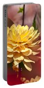 Yellow Dahlia 2 Portable Battery Charger
