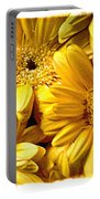 Yellow Daisies Portable Battery Charger