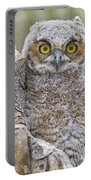 Yellow Eyes Portable Battery Charger