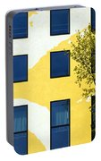 Yellow Facade In Berlin Portable Battery Charger