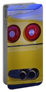 Yellow Ferrari Tail Lights Portable Battery Charger