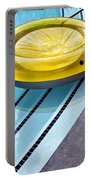 Yellow Float Palm Springs Portable Battery Charger