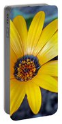 Yellow Flower Helianthus Portable Battery Charger