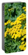 Yellow Flowers 3 Portable Battery Charger
