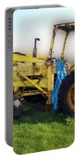 Yellow Ford Tractor Portable Battery Charger