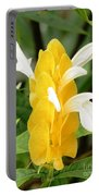 Yellow Ginger Blossom Portable Battery Charger