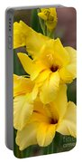 Yellow Gladiolus Portable Battery Charger