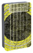Yellow Guitar - Digital Painting - Music Portable Battery Charger