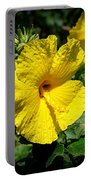 Yellow Hibiscus Hawaii State Flower Portable Battery Charger