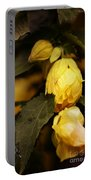 Yellow Hibiscus Late Afternoon Portable Battery Charger