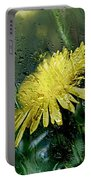 Yellow In The Rain Portable Battery Charger