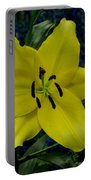Yellow Lillies Portable Battery Charger
