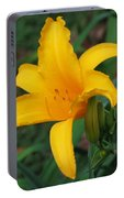 Yellow Lily Portable Battery Charger