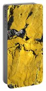 Yellow Line Abstract Portable Battery Charger