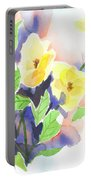 Yellow Magnolias Portable Battery Charger