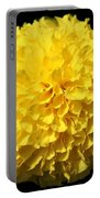 Yellow Marigold Portable Battery Charger