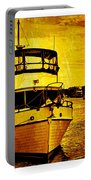 Yellow On The Water Portable Battery Charger