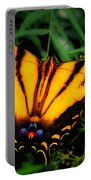 Yellow Orange Tiger Swallowtail Butterfly Portable Battery Charger