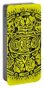 Yellow Oreo Portable Battery Charger