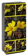 Yellow Oxalis - Oxalis Spiralis Vulcanicola Portable Battery Charger