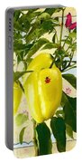 Yellow Pepper Portable Battery Charger