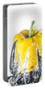 Yellow Pepper Rocket Portable Battery Charger
