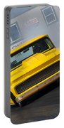 Yellow Pick Up Truck Portable Battery Charger