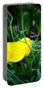 Yellow Poppy Xl Format Floral Photography Portable Battery Charger
