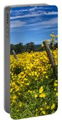 Yellow Profusion Portable Battery Charger