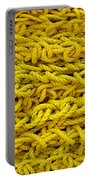Yellow Rope Stack Portable Battery Charger
