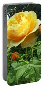 Yellow Rose And Buds Portable Battery Charger
