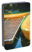 Yellow Rowboats Portable Battery Charger