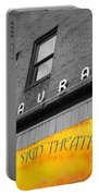 Yellow Sign Theatre Portable Battery Charger