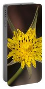 Yellow Star Flower Portable Battery Charger