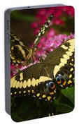 Yellow Swallowtail Butterflies  Portable Battery Charger