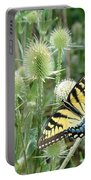 Yellow Swallowtail Butterfly Portable Battery Charger
