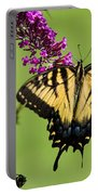 Yellow Swallowtail Portable Battery Charger