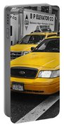 Yellow Taxi Color Pop Portable Battery Charger